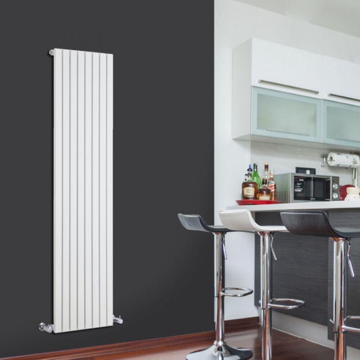 Radiador de Diseño Vertical - Blanco - 1600mm x 472mm x 53mm - 1149 Vatios - Sloane