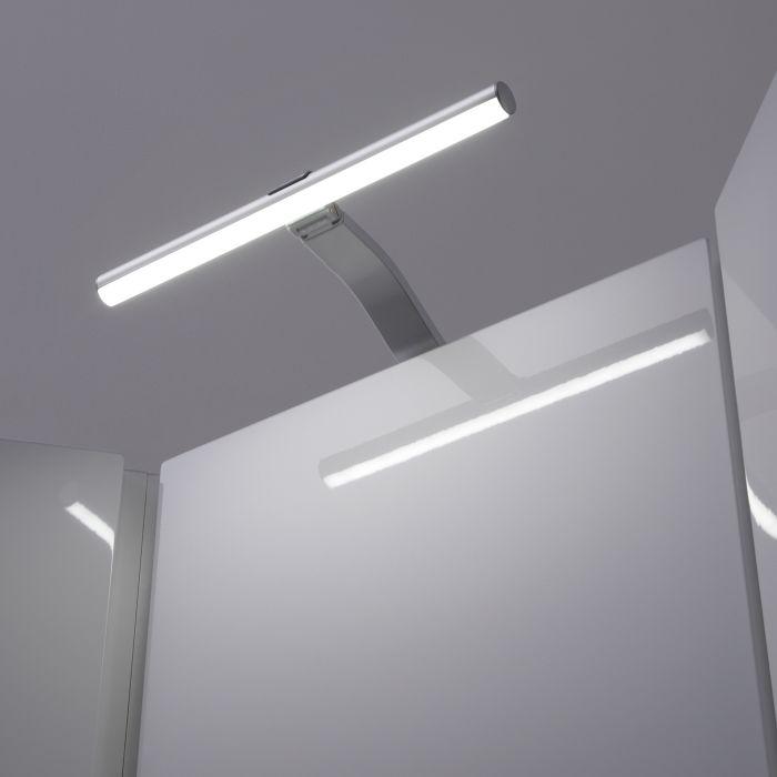 Biard 1 x Luminaria LED 3,3 W Sobre Armario con Conector de Alimentación 12 V y Cable de 1m