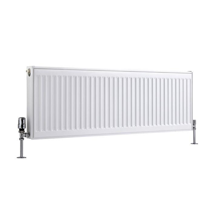 Radiador Convector Horizontal - Blanco - 400mm x 1200mm x 50mm - 925 Vatios - Eco