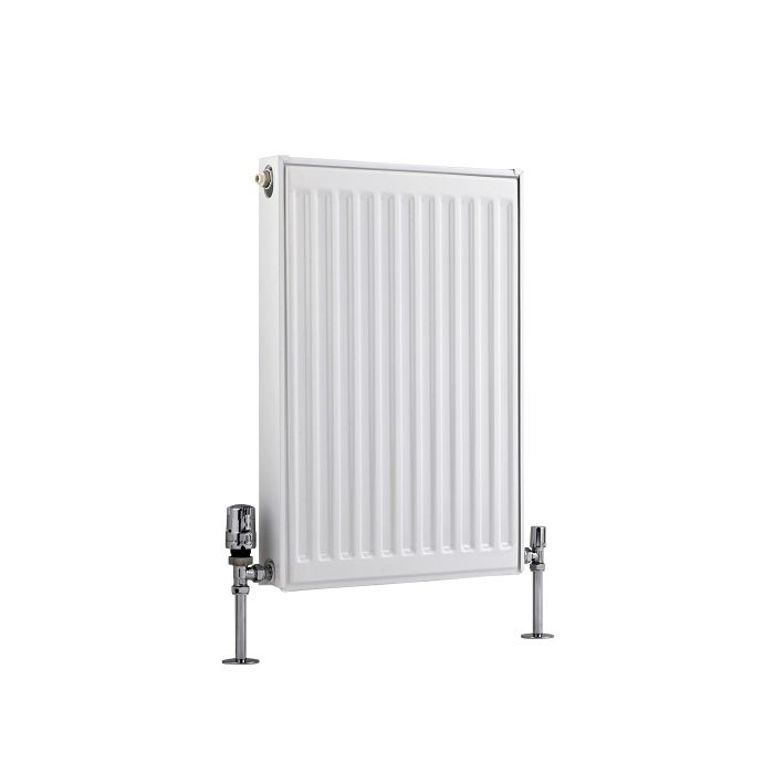 Radiador Convector Horizontal - Blanco - 600mm x 400mm x 50mm - 446 Vatios - Eco