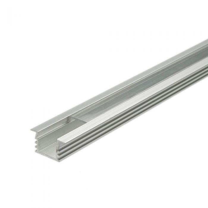 Perfil de Superficie en Aluminio para Tiras LED 100cm