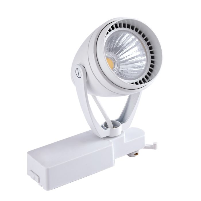 Biard Foco de Carril de Techo LED 12W - Blanco