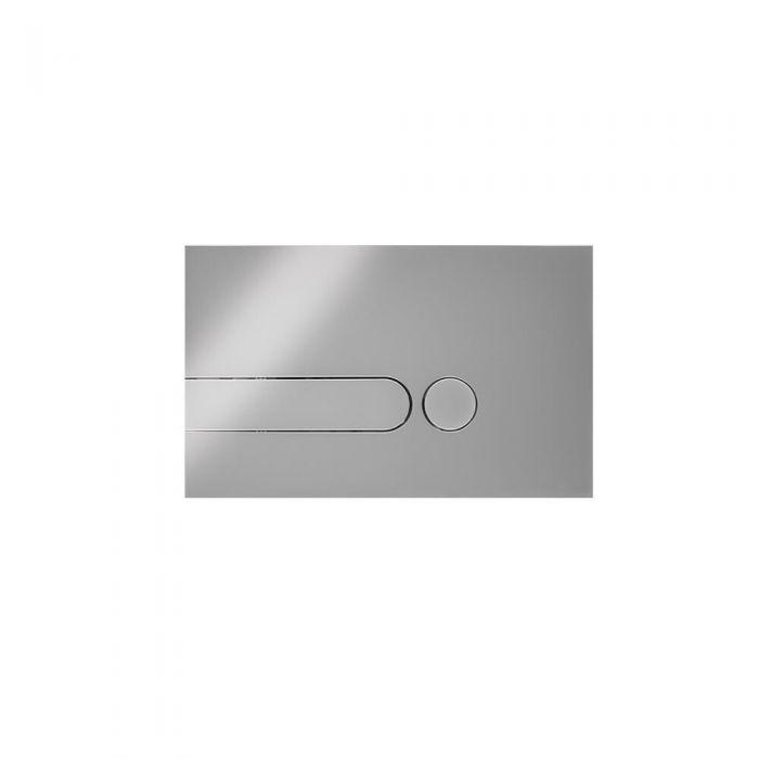 Placa de Accionamiento para WC Cromado con Cisterna Empotrable 150x240mm - Cluo