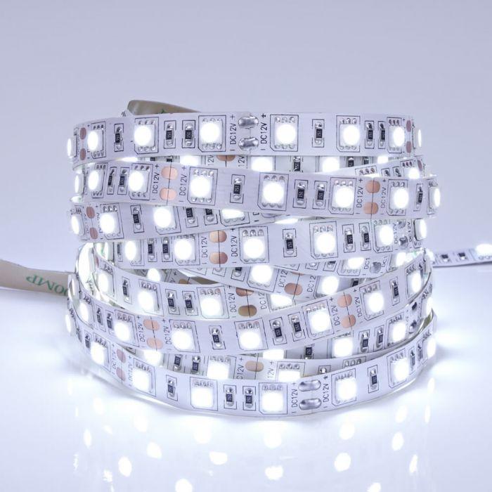 Biard Tira de Luces LED 5050 de 5 Metros Blanco Ultra Frío
