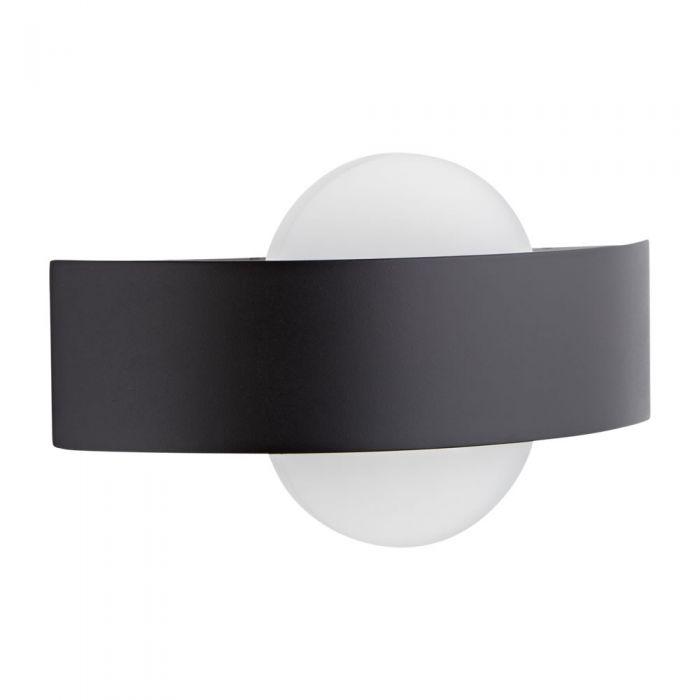 Biard Apliqué de Pared Negro para Cuarto de Baño LED 11W Equivalente a 34 Vatios- Aqua