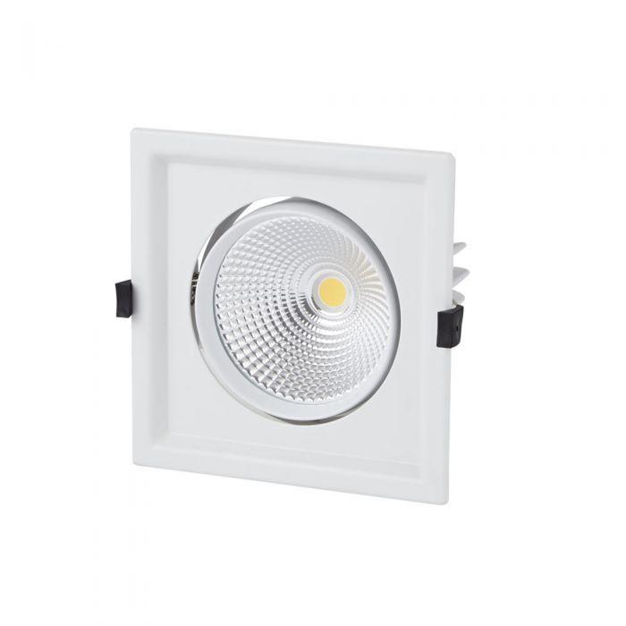 Foco Empotrable LED Orientable de 30W