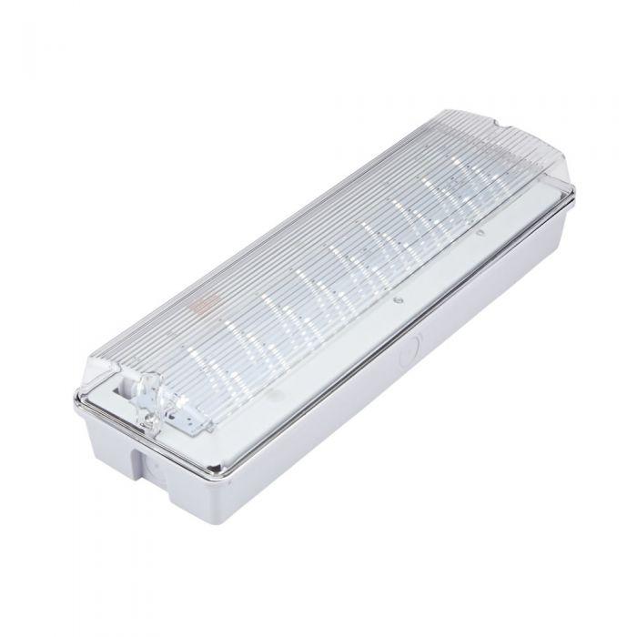 Biard Regleta LED de Emergencia 4W de Mantenimiento o Sin Mantenimiento