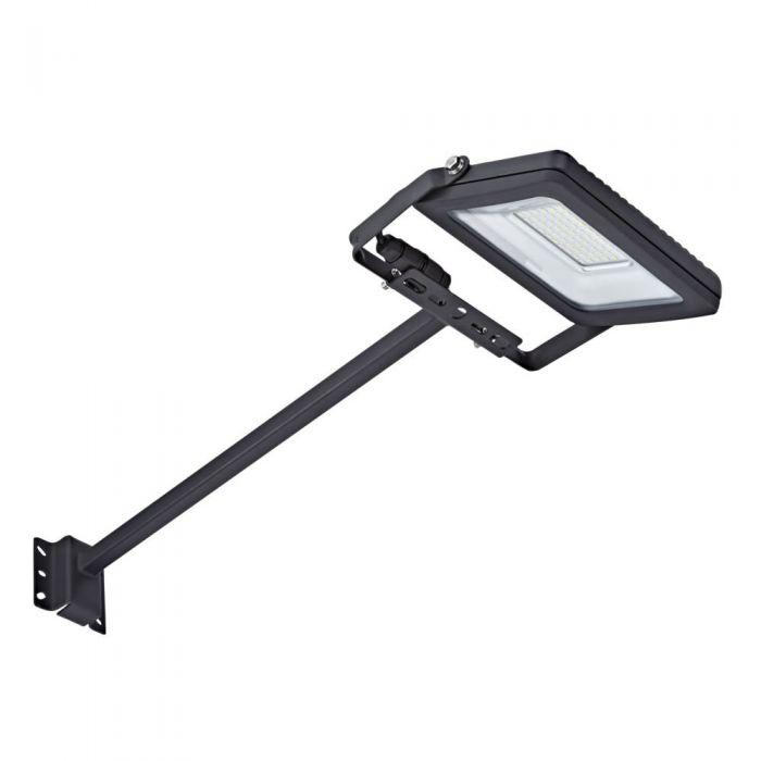 Kit Completo con Brazo Porta Foco Proyector LED de 0,5m  y Foco LED de 30W IP65