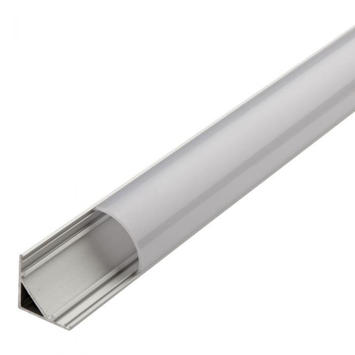 Biard Perfil de Superficie Angular para Tiras LED 100cm Forma de V