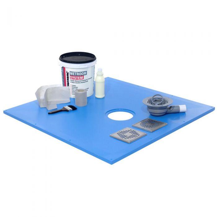 Kit Impermeabilizante Líquido para Ducha y Ducha de Obra - Hudson Reed