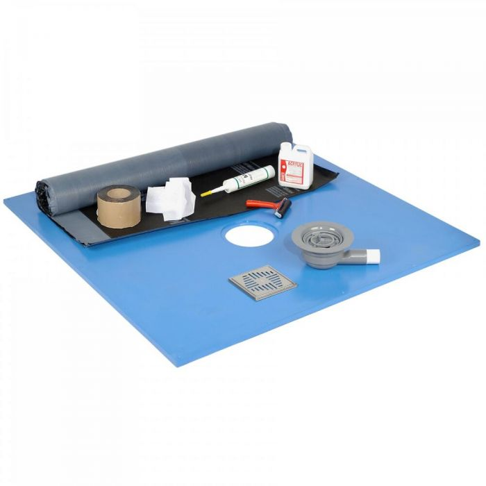 Kit con Membrana Bituminosa Impermeabilizante de 5m² - Hudson Reed