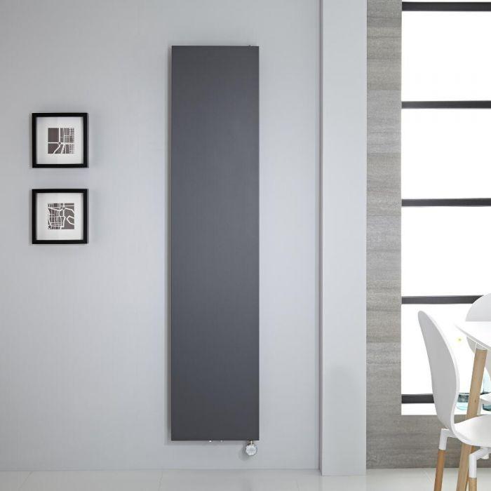 Radiador de Diseño Eléctrico Vertical - Antracita - 1800mm x 400mm - Rubi