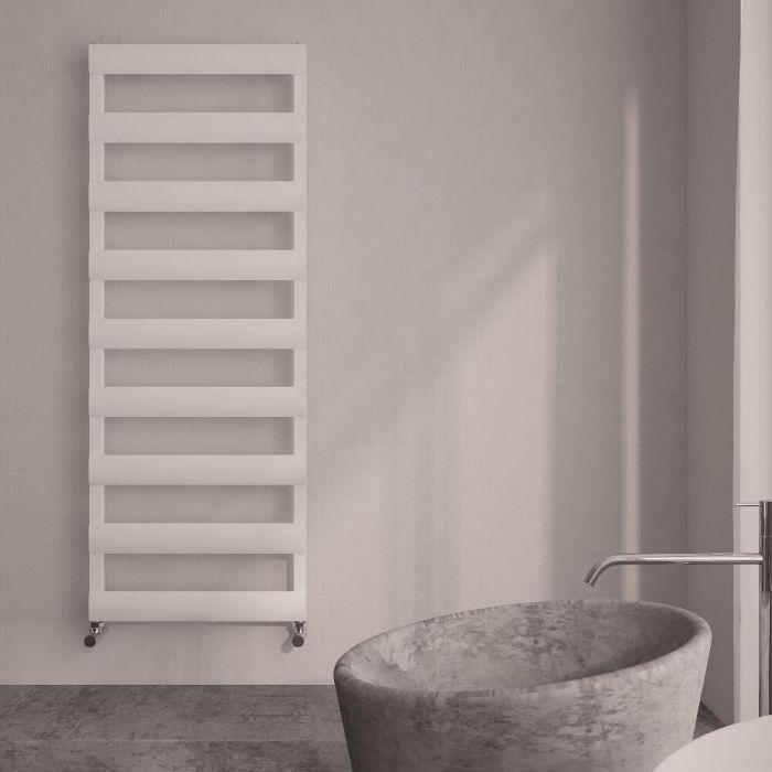 Radiador Toallero Plano - Blanco - Aluminio - 1590mm x 500mm x 36mm - 683 Vatios - Gradus