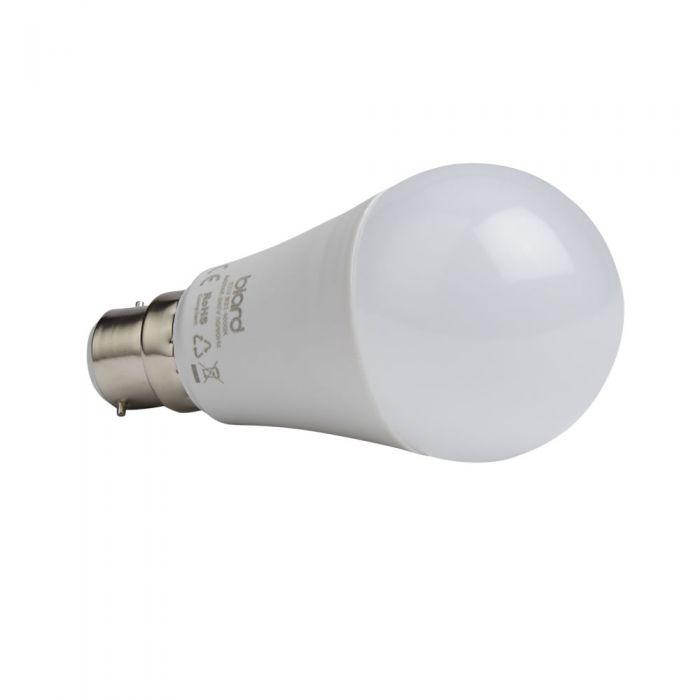 Biard Conjunto con 6 Bombillas LED B22 de 12W con Intensidad Luminosa Regulable