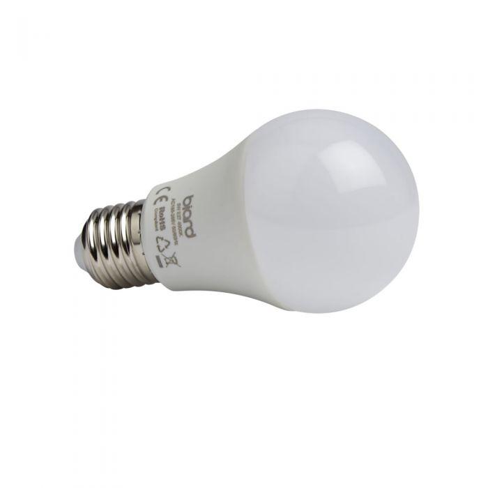 Biard Conjunto de 6 Bombillas LED E27 de 5W con Intensidad Luminosa No Regulable