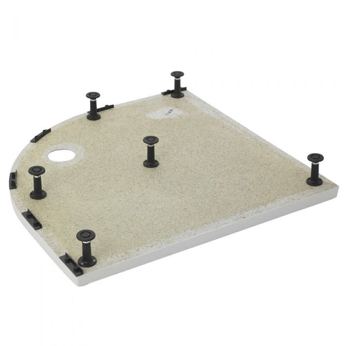 Estructuras de elevación para platos de ducha rectangulares