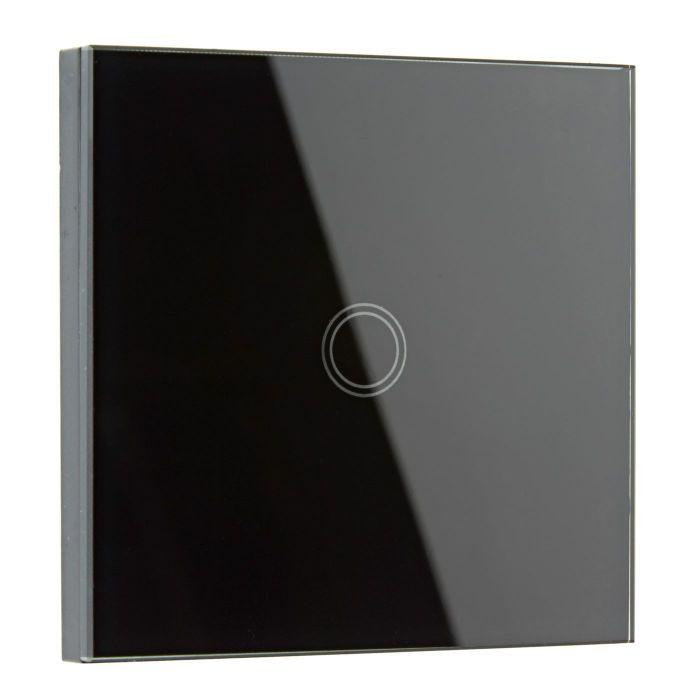 Biard Interruptor de Diseño de Pared Negro con Sección posterior Redonda