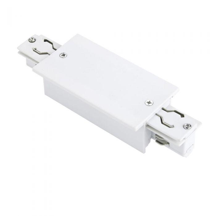 Biard Conector de Alimentación Empotrable Para Sistemas de 3 Circuitos - Blanco