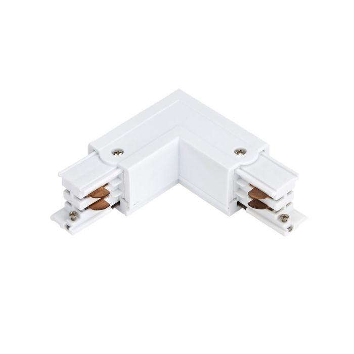 Biard Conector de Alimentación L Para Sistemas de 1 Circuito - Blanco