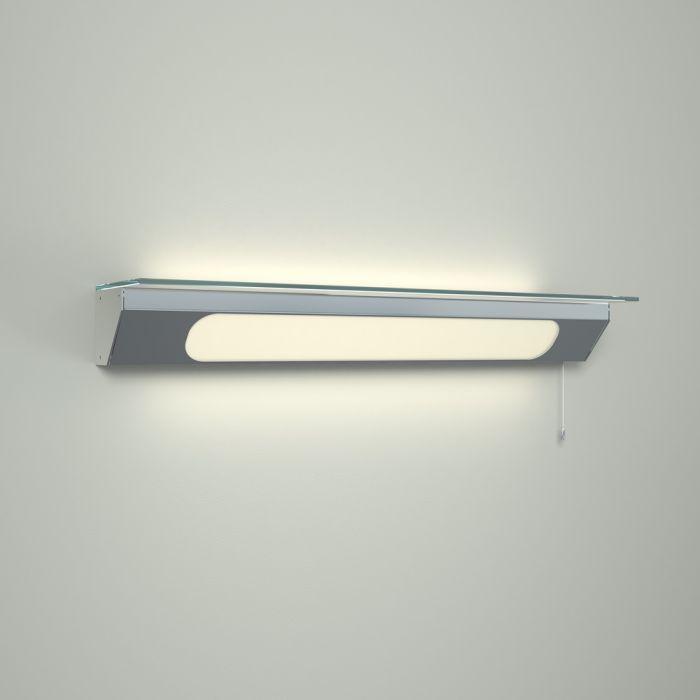 Luminaria LED con Repisa y para Cuarto de Baño -  Achen