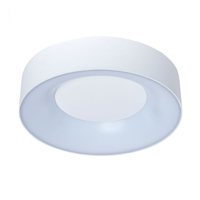 Plafón de Techo Blanco Redondo LED 18W IP54 - Lecce