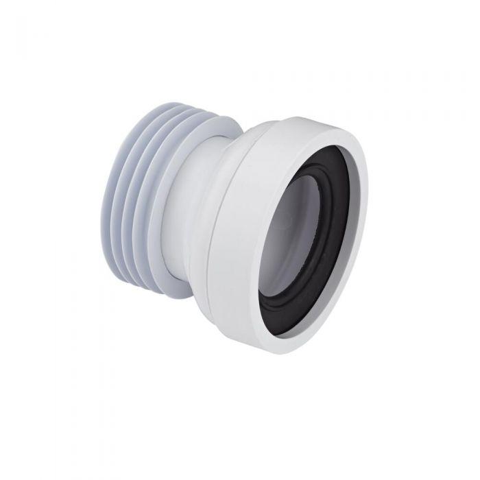 Manguito Recto para Inodoro WC a Suelo Ø110mm Propileno McAlpine