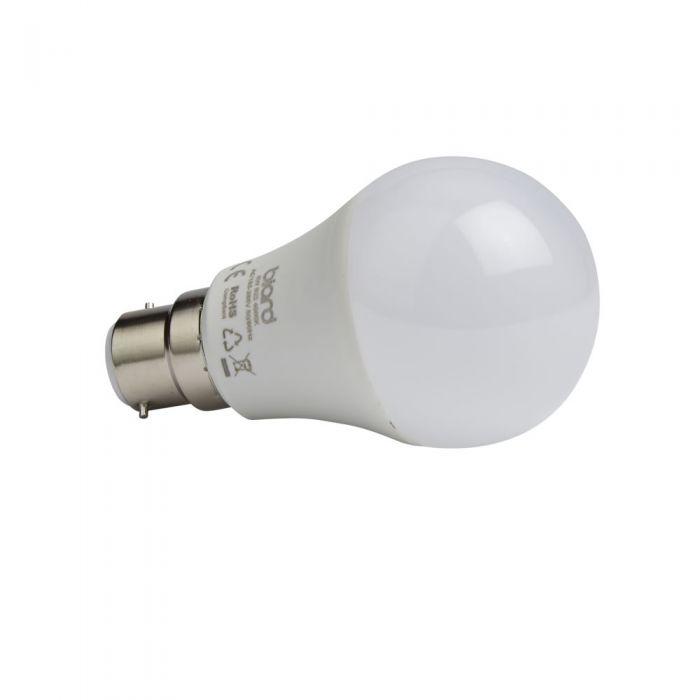 Biard Conjunto de 6 Bombillas LED B22 de 5W con Intensidad Luminosa Regulable