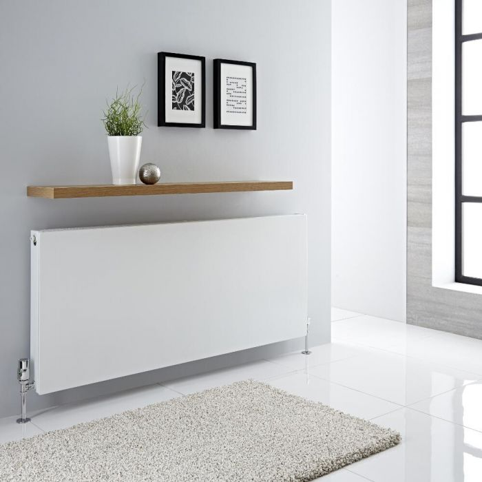 Radiador Convector Horizontal con Panel Doble Plus - Blanco - 600mm x 1400mm x 72,5mm - 2305 Vatios - Type 21