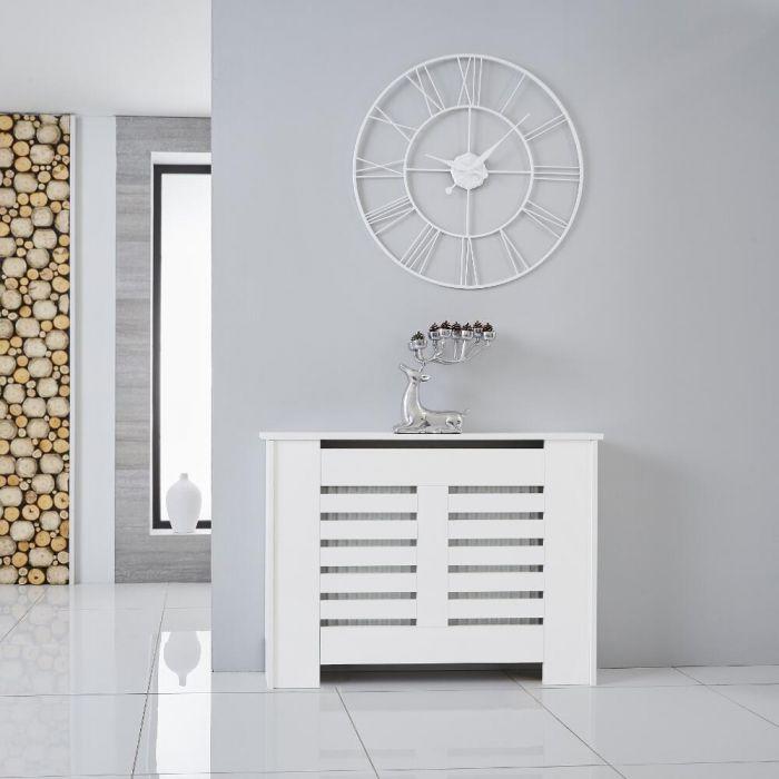 Cubre Radiador Blanco Horizontal de 820mm x 1110 x 190mm  - Newham