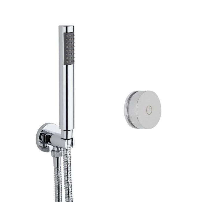 Ducha Digital con Sistema de Control de 1 Salida con Ducha de Mano Redonda - Narus