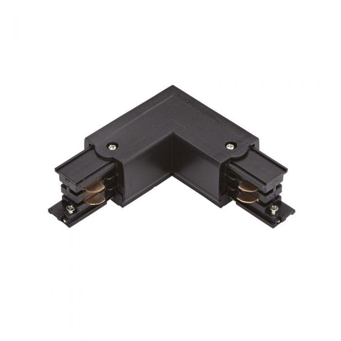 Biard Conector de Alimentación L Para Sistemas de 1 Circuito - Negro
