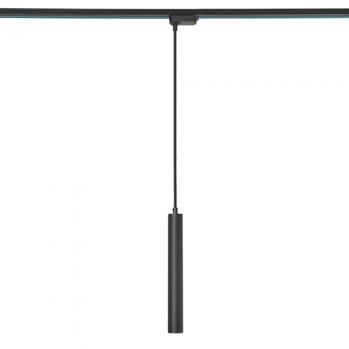 Lámpara de Techo Colgante LED de Color Negro para Carril 5W - Liv