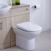 Mueble de Baño con Inodoro Integrado 76x50x36cm