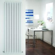 Radiador de Diseño Vertical Doble - Blanco - 1780mm x 590mm x 78mm - 2335 Vatios - Revive