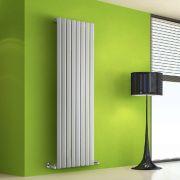 Radiador de Diseño Vertical - Blanco - 1600mm x 560mm x 60mm - 1261 Vatios - Rombo