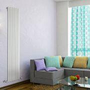 Radiador de Diseño Vertical - Blanco - 1780mm x 420mm x 47mm - 987 Vatios - Delta
