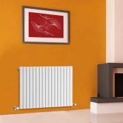 Radiador de Diseño Horizontal - Blanco - 635mm x 1000mm x 54mm - 1022 Vatios - Sloane
