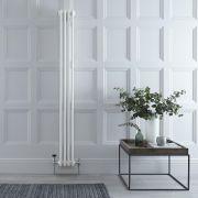 Radiador de Diseño Vertical Triple Tradicional - Blanco - 1800mm x 203mm x 100mm - 779 Vatios - Regent