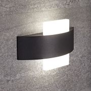Biard Apliqué de Pared Negro para Cuarto de Baño de 240 x 60 x 147mm LED 11W - Aqua