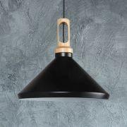 Lámpara de Techo Colgante de Color Negro - Orlu