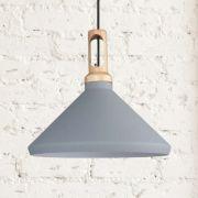 Lámpara de Techo Colgante de Color Gris - Orlu
