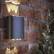 Apliqué Mural Exterior LED de Color Antracita IP54 6W - Olen