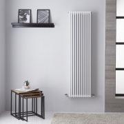 Radiador de Diseño Vertical Doble - Blanco - 1506mm x 392mm - 862 Vatios – Neive