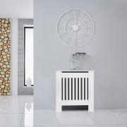 Cubre Radiador Blanco Vertical de 820mm x 780 x 190mm - Sutton