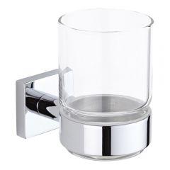Vaso Porta Cepillo de Dientes y Soporte Porta Vaso de Pared Clásico