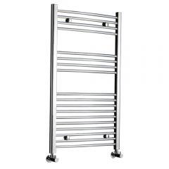 Radiador Toallero Curvo - Cromado - 1000mm x 600mm x 46mm - 417 Vatios - Ladder