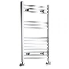 Radiador Toallero Curvo - Cromado - 800mm x 500mm x 42mm - 289 Vatios - Ladder