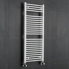 Radiador Toallero Plano - Blanco - 1200mm x 500mm x 30mm - 686 Vatios - Sterling