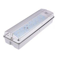 Luz de Emergencia LED Rectangular de 7,5W