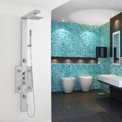 Panel de Ducha Termostático de Aluminio - Bora Bora